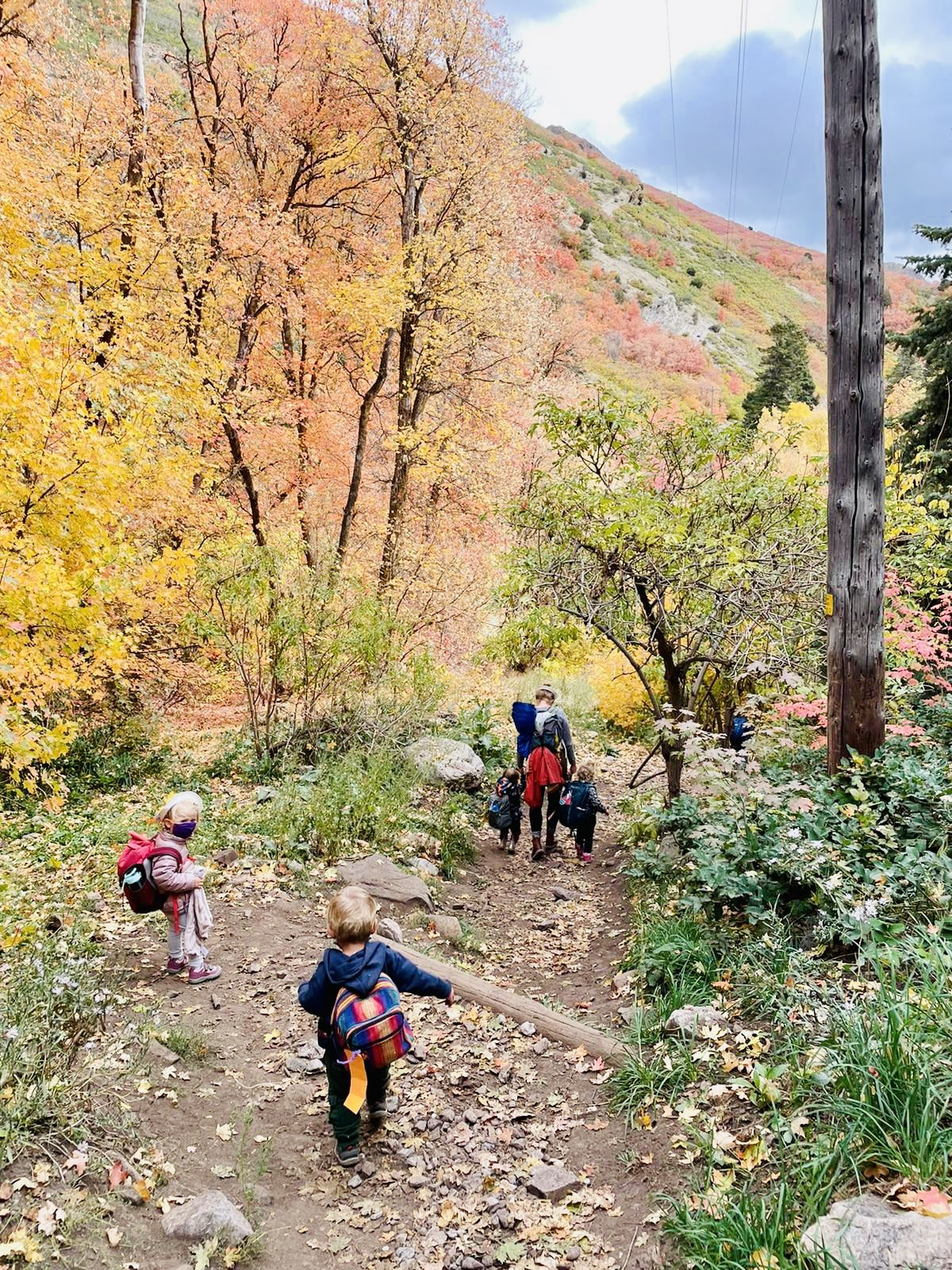 You are currently viewing Best Kid-friendly Fall Hikes Around Salt Lake City